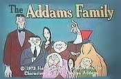 The Addams Family at The Kentucky Derby Cartoon Picture