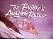The Puppy's Amazing Rescue Cartoon Character Picture