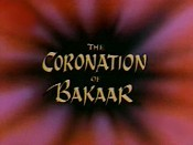The Coronation Of Bakaar Cartoon Picture