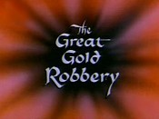 The Great Gold Robbery Free Cartoon Pictures