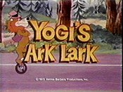 Yogi's Ark Lark Free Cartoon Picture