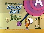 Bully For Atom Ant Cartoon Picture