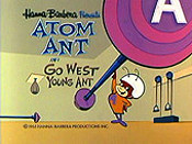 Go West Young Ant Cartoon Picture