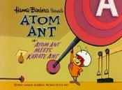 Atom Ant Meets Karate Ant Free Cartoon Picture