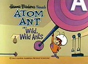 Wild, Wild Ants Cartoon Picture