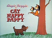 Cat Happy Pappy Cartoon Picture