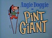 Pint Giant Cartoon Character Picture
