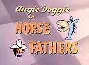 Horse Fathers Free Cartoon Picture