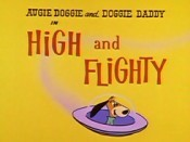 High And Flighty Cartoon Character Picture