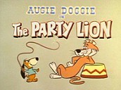 The Party Lion Cartoon Character Picture