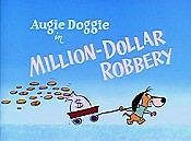 Million-Dollar Robbery Cartoon Character Picture