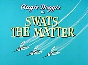 Swats The Matter Free Cartoon Picture