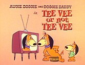 Tee Vee Or Not Tee Vee Picture Of Cartoon