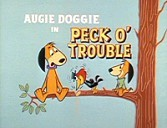 Peck O' Trouble Free Cartoon Picture