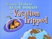 Vacation Tripped Free Cartoon Picture