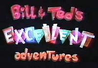 Bill & Ted's Excellent Adventure In Babysitting Cartoon Picture