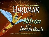 Nitron The Human Bomb Picture To Cartoon