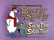 Snow Time Show Time Cartoon Picture