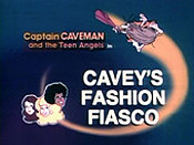 Cavey's Fashion Fiasco Picture Into Cartoon