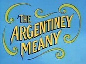 The Argentiny Meany Cartoon Character Picture