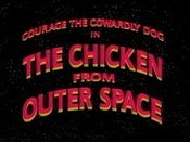 The Chicken from Outer Space Picture Into Cartoon
