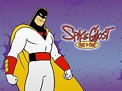 A Space Ghost Christmas Cartoon Picture