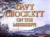Davy Crockett On The Mississippi Cartoon Picture