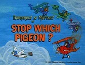 Stop Which Pigeon? Cartoon Picture