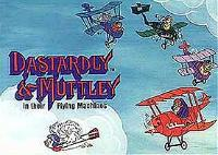 Dastardly And Muttley And Their Flying Machines (Series) Cartoon Funny Pictures