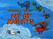Fly By Knights Cartoon Picture