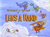 Lens A Hand Cartoon Funny Pictures