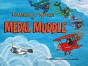 Medal Muddle Cartoon Picture