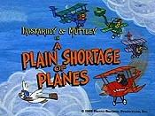 A Plain Shortage Of Planes Cartoon Picture