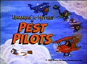 Pest Pilots Picture To Cartoon