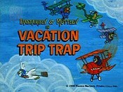 Vacation Trip Trap Cartoon Picture