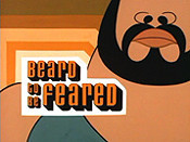 Beard To Be Feared Cartoon Picture