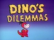 Dressed Up Dino Cartoon Picture