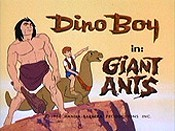 Giant Ants Picture Into Cartoon
