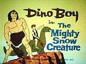 The Mighty Snow Creature Cartoon Picture