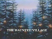 The Haunted Village Free Cartoon Picture