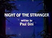 Night Of The Stranger Cartoon Picture