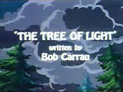 The Tree Of Light Cartoon Character Picture