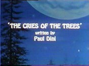 The Cries Of The Trees Cartoon Character Picture