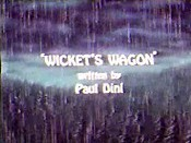 Wicket's Wagon Picture Into Cartoon