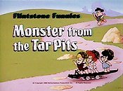 Monster From The Tar Pits Picture Into Cartoon