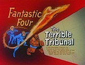 The Terrible Tribunal Cartoon Character Picture