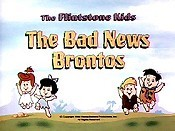 The Bad News Brontos Cartoon Picture
