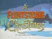 A Flintstone Christmas Cartoon Picture