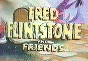 Fred Flintstone And Friends Cartoon Character Picture