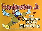 The Pilfering Putty Monster Cartoon Picture